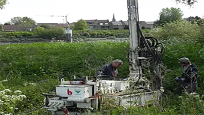 Characterization of former landfills in Flanders