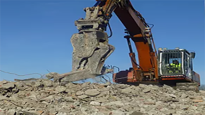 Characterising waste at Vika landfill, Katrineholm
