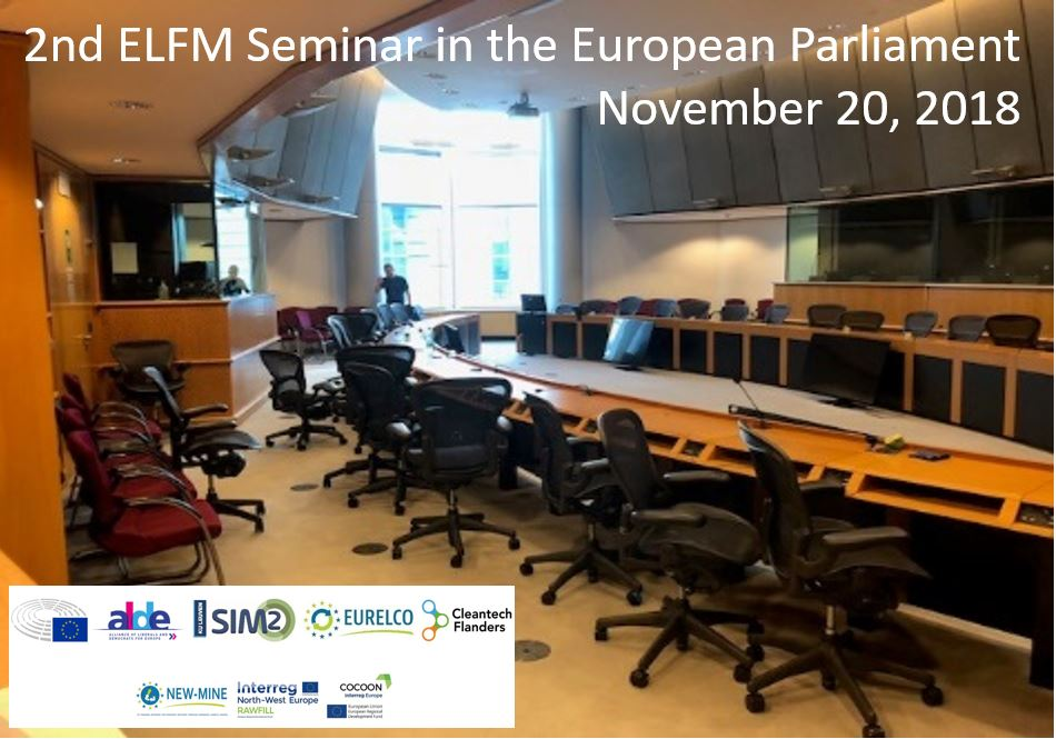 Register for 2nd ELFM Seminar in the EP (20-11-2018)