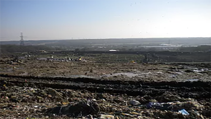 Evaluating the effects of the recent waste composition on landfill gas production