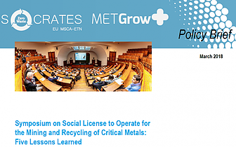 New Policy Brief on the Social License to Operate