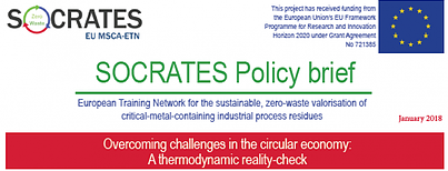 SOCRATES Policy View: Thermodynamic reality check