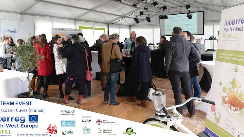 Video report on Interreg RAWFILL's mid-term event in Cuves (FR)