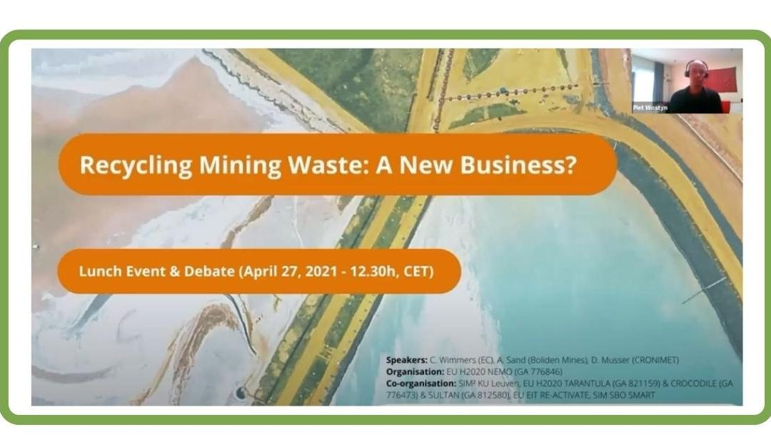 5 lessons learned from NEMO's event on remining extractive waste (April 2021)
